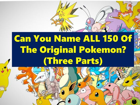 can you name all