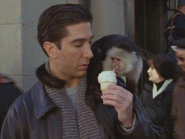 Image result for ross monkey gif