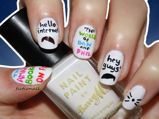 10 Dan And Phil Nail Art Creations That Will Make You Craft With Joy