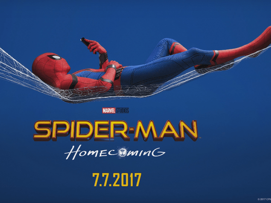 Image result for spider man homecoming poster horizontal
