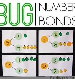 Bug Number Bonds - Playdough To Plato [ 969 x 1000 Pixel ]