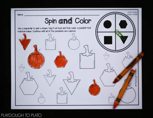 small resolution of First Grade Pumpkin Activities - Playdough To Plato