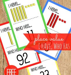click the blue download button below to grab your puzzles now and then hop over and snag our free place value i have who has game  [ 819 x 1024 Pixel ]