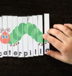 Very Hungry Caterpillar Puzzles - Playdough To Plato [ 2212 x 3318 Pixel ]