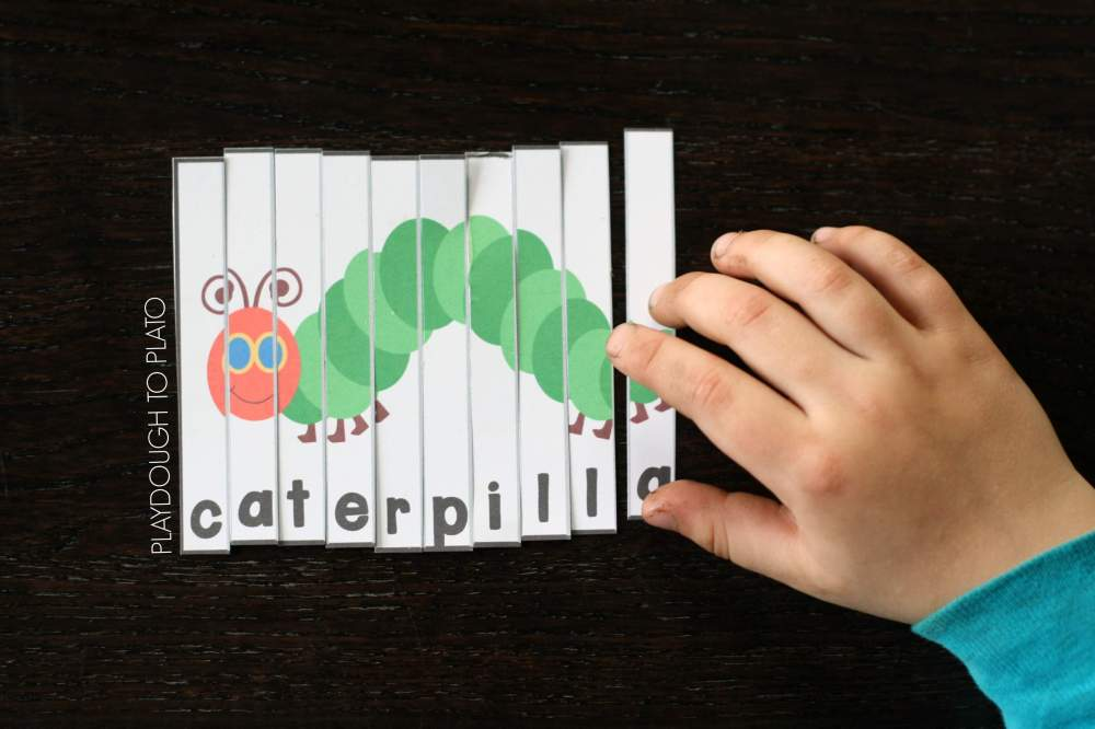 medium resolution of Very Hungry Caterpillar Puzzles - Playdough To Plato
