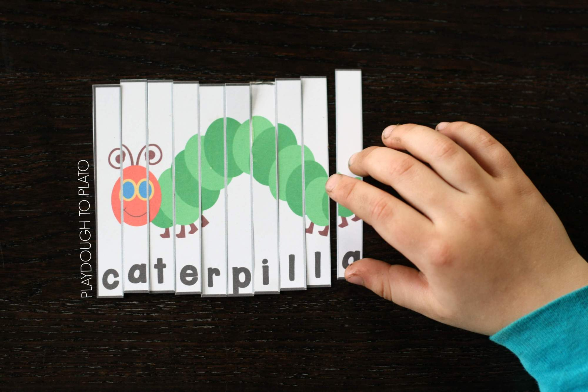 hight resolution of Very Hungry Caterpillar Puzzles - Playdough To Plato