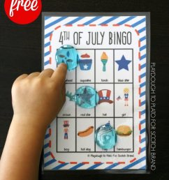 25 4th of July Activities for Kids - Playdough To Plato [ 1024 x 803 Pixel ]
