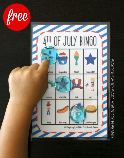 small resolution of 25 4th of July Activities for Kids - Playdough To Plato
