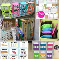 Classroom Organizer Chair Covers Tall For Standing Desk 21 Brilliant Organization Hacks Playdough To Plato Tons And Of Awesome Tips