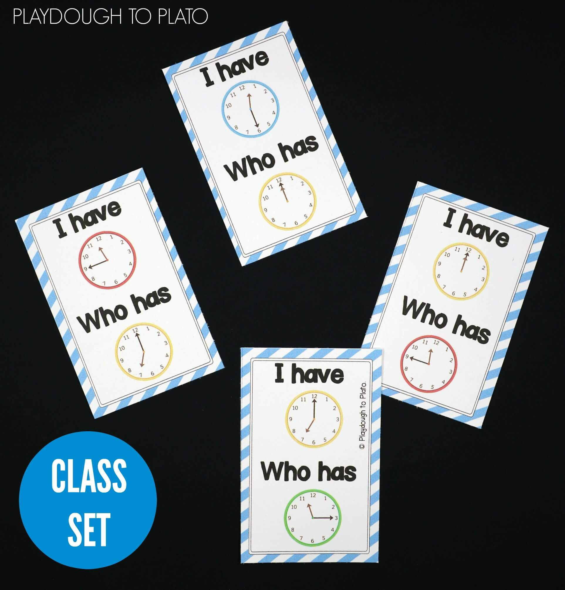 hight resolution of Telling Time Activity Pack - Playdough To Plato
