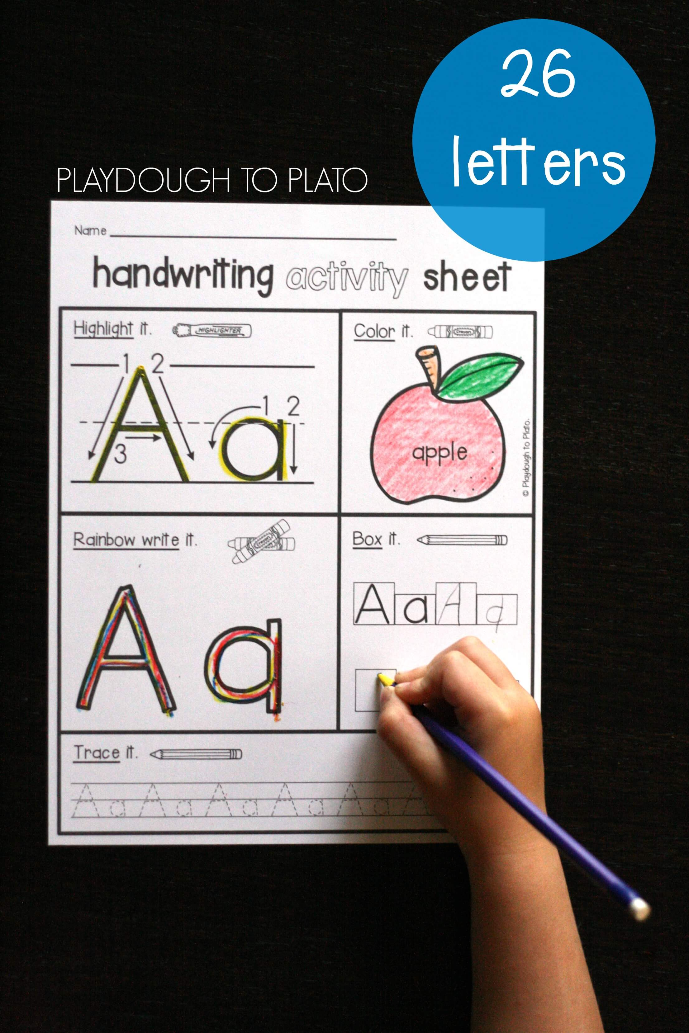 Handwriting Activity Pack