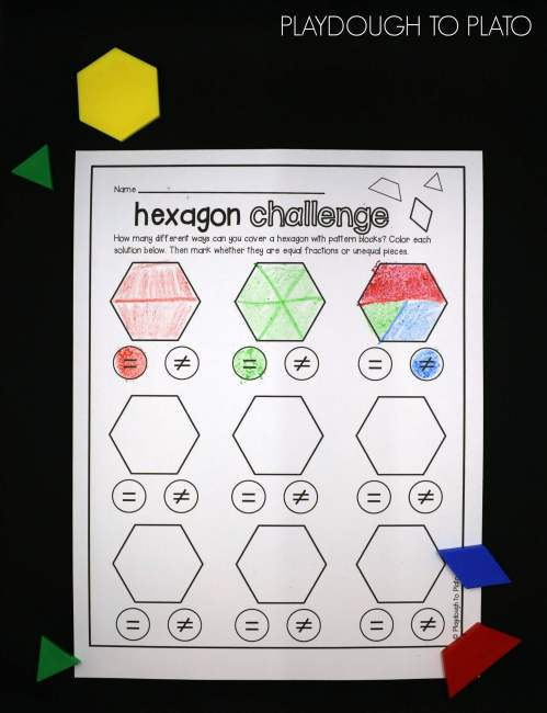 small resolution of Pattern Blocks Worksheets   Printable Worksheets and Activities for  Teachers
