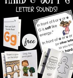 Hard and Soft G Little Reader Books - Playdough To Plato [ 1000 x 800 Pixel ]