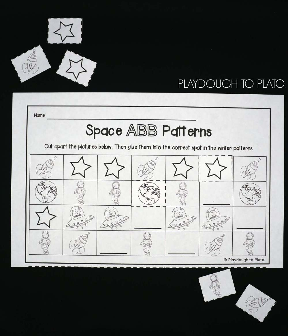 medium resolution of 25 Outer Space Activities - Playdough To Plato