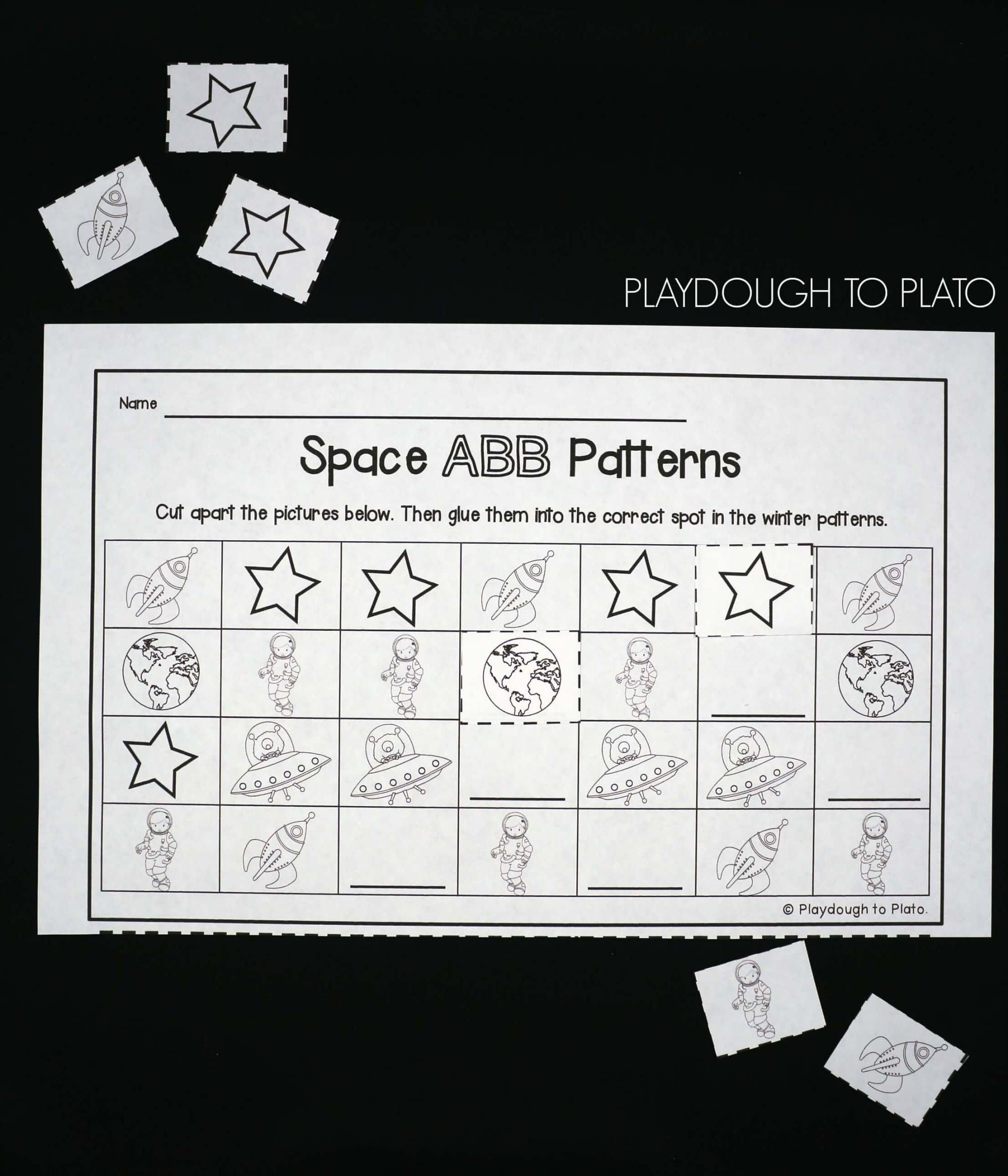 hight resolution of 25 Outer Space Activities - Playdough To Plato
