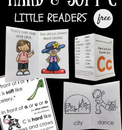 Hard and Soft C Little Reader Books - Playdough To Plato [ 1000 x 800 Pixel ]