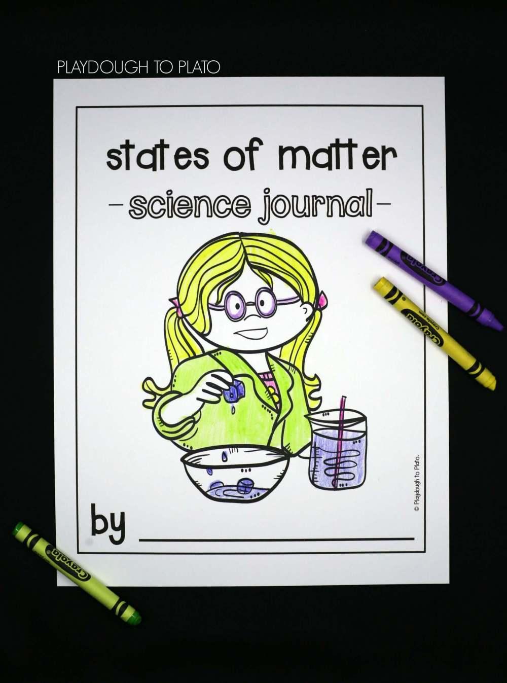 medium resolution of States of Matter Activities - Playdough To Plato