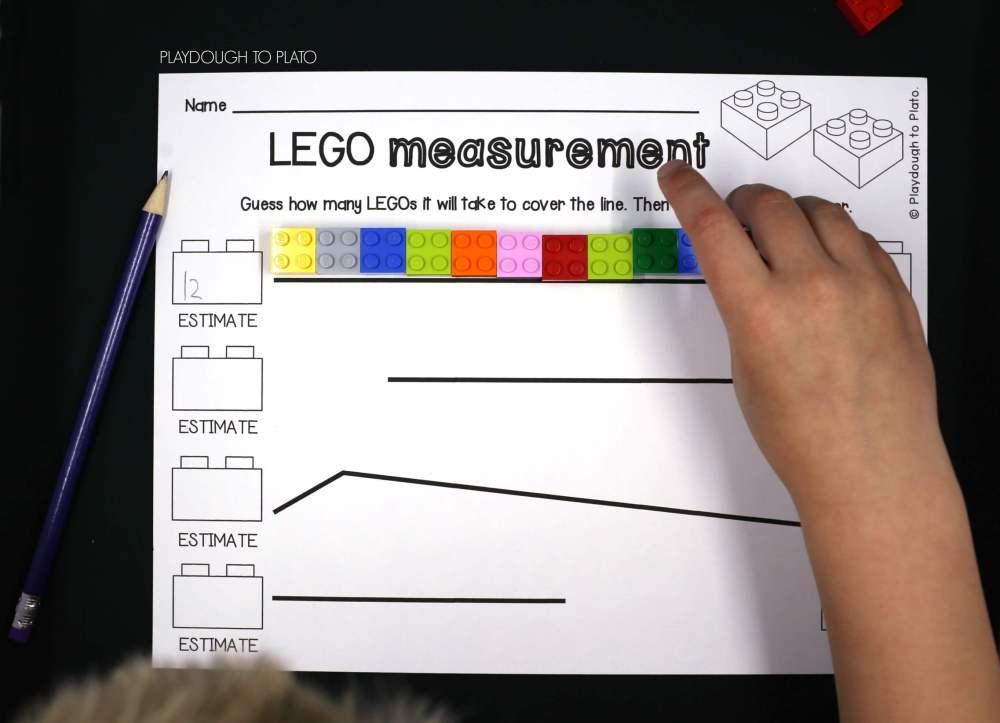 medium resolution of LEGO Measurement - Playdough To Plato