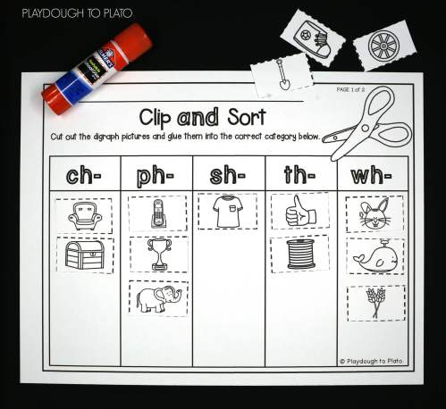small resolution of Digraph Activities! - Playdough To Plato
