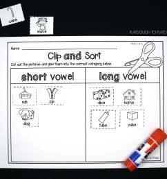 Magic E Worksheet For Kindergarten   Printable Worksheets and Activities  for Teachers [ 2212 x 2446 Pixel ]