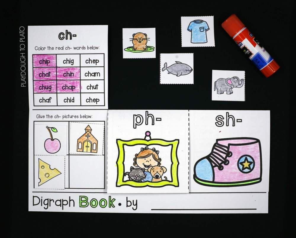 medium resolution of Digraph Activities! - Playdough To Plato