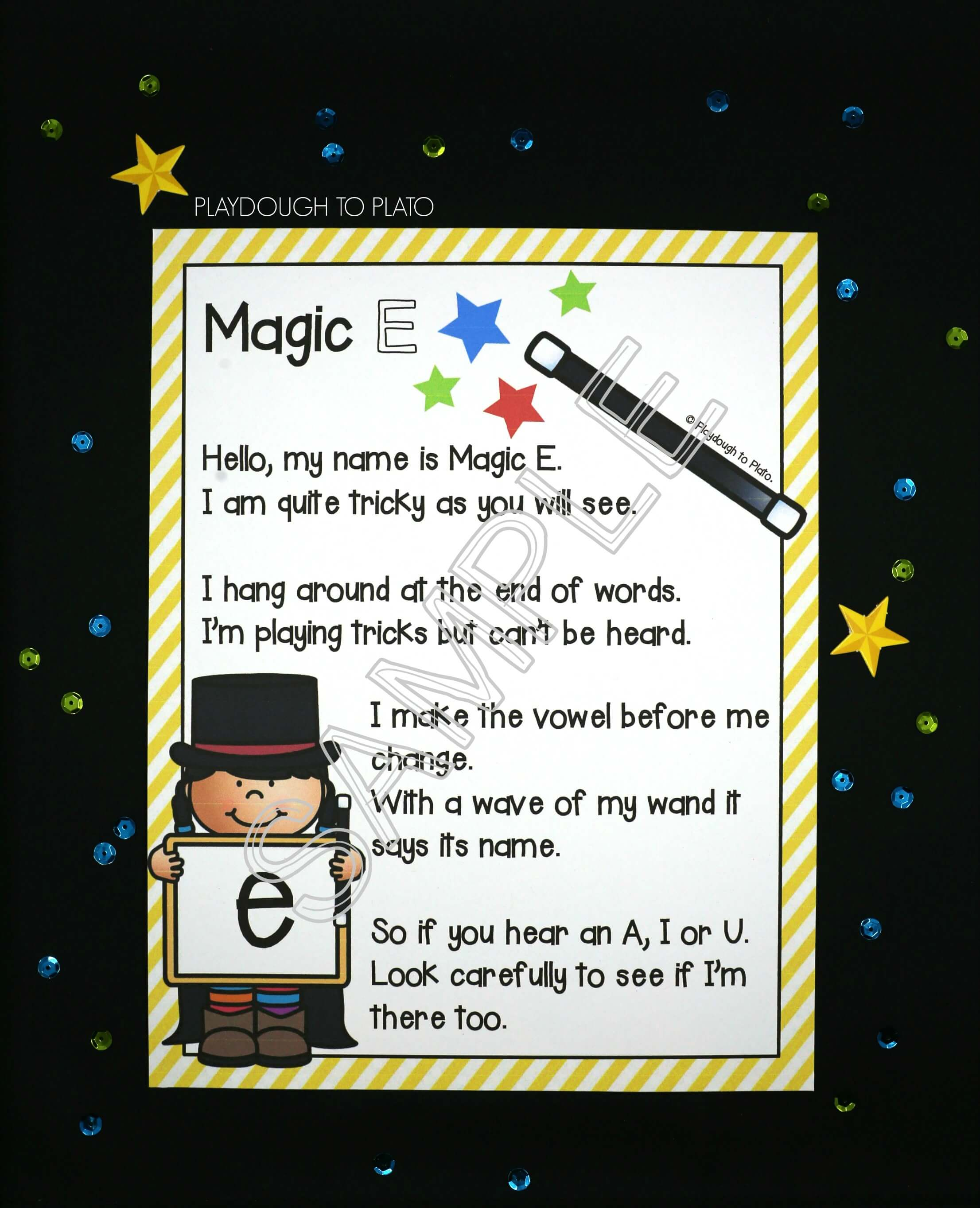 Magic E Activity Pack