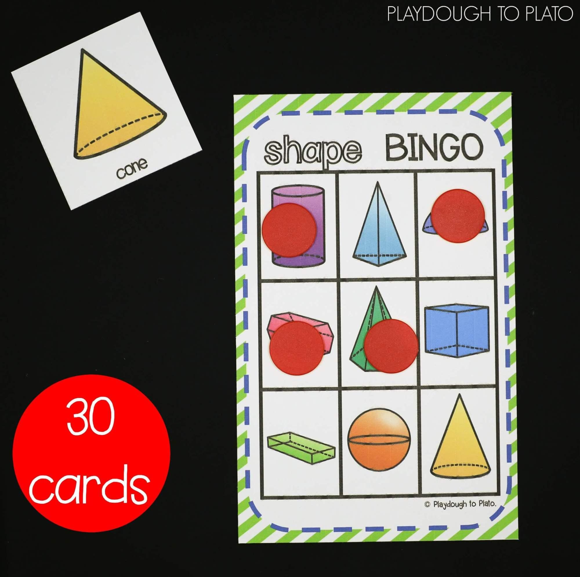 hight resolution of 3D Shape Activities - Playdough To Plato