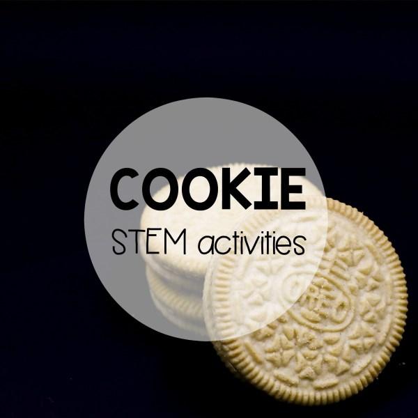 Stem Challenge Build With Cookies - Playdough Plato