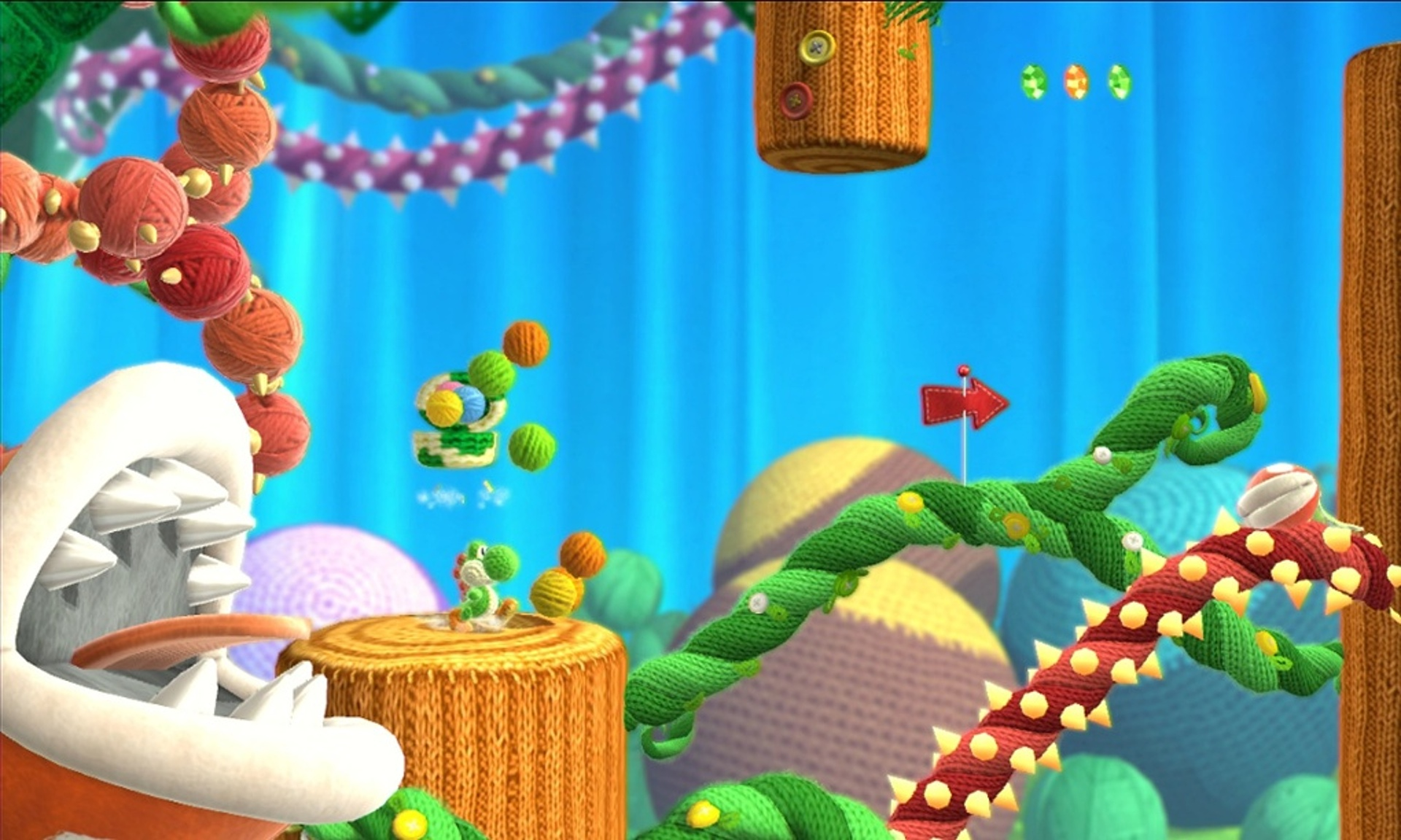Yoshis Wooly World Coloring Pages