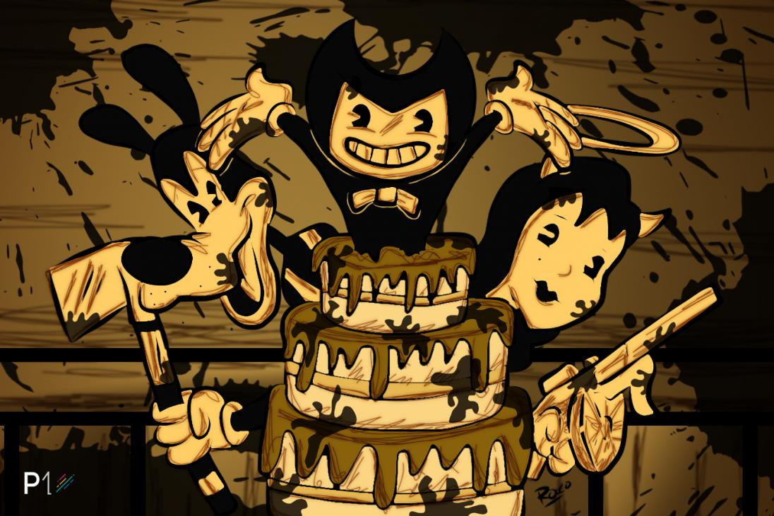 Cute Adventure Is Out There Wallpapers Bendy And The Ink Machine One Year Later Player One