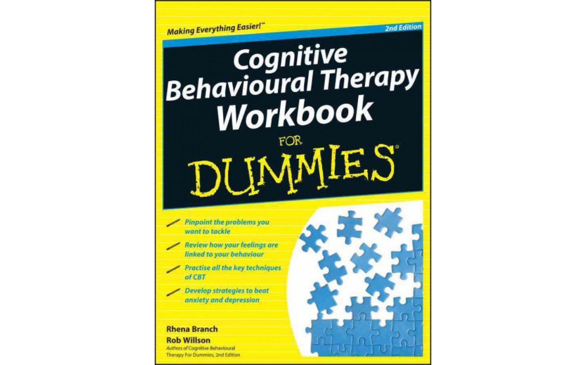 Cognitive Behavioural Therapy Workbook For Dummies Books