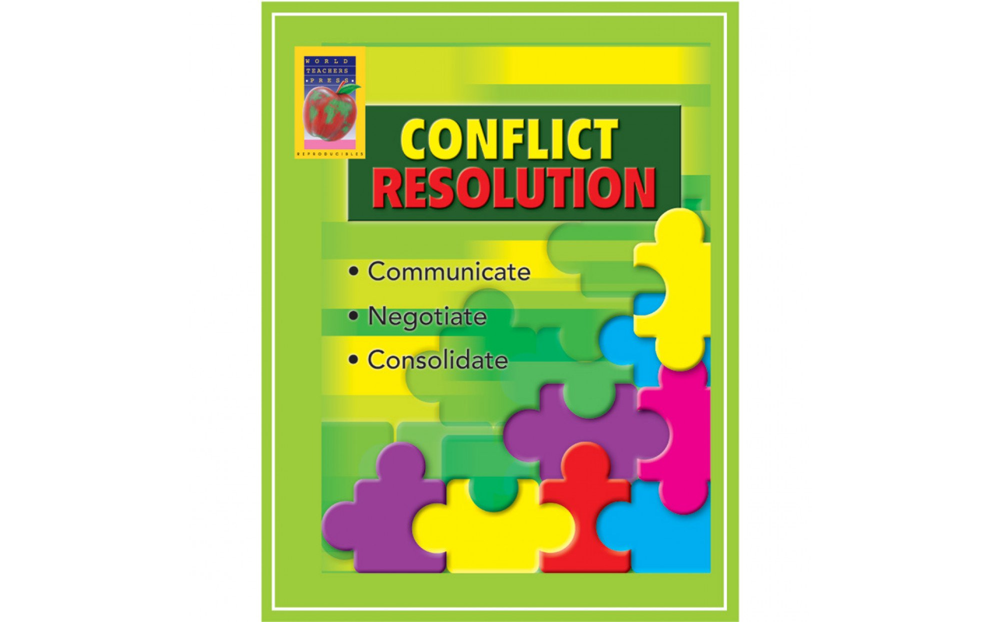 Conflict Resolution Reproducible Activities Grades 6 8 Books