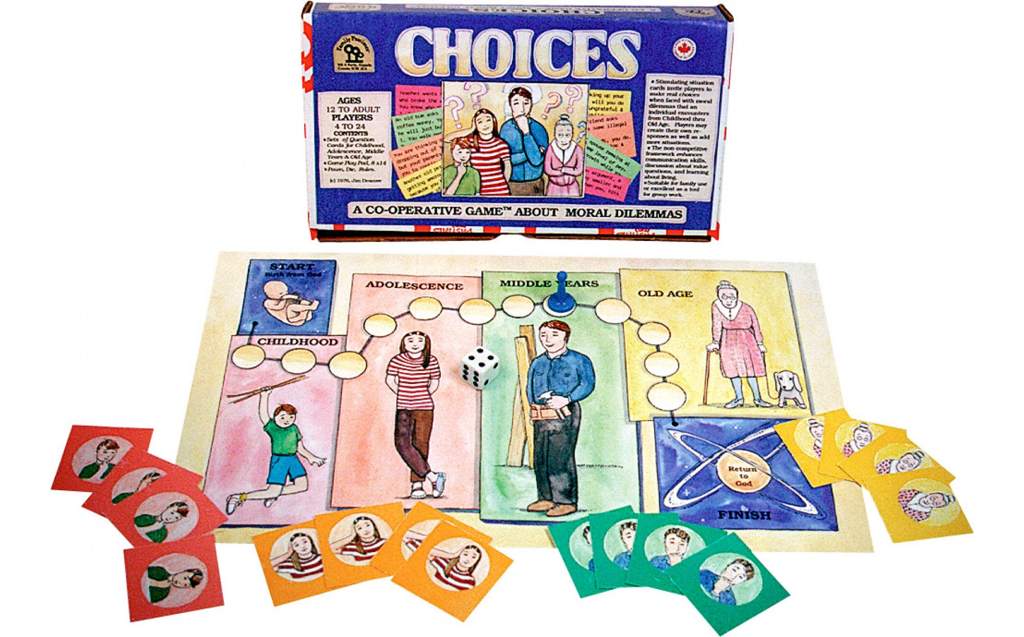Choices A Cooperative Game About Moral Dilemmas Games
