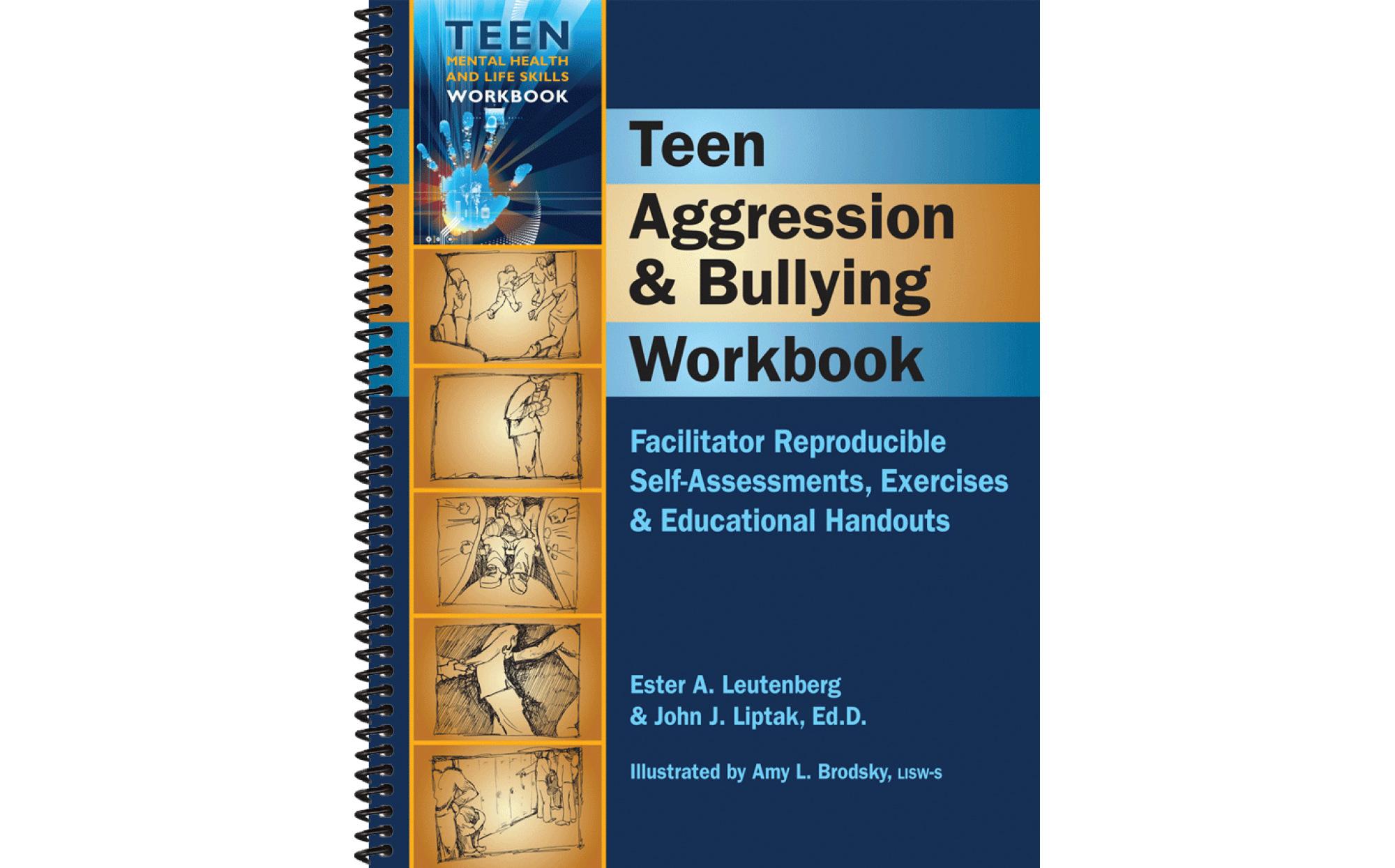 Teen Aggression Amp Bullying Reproducible Self Assessments