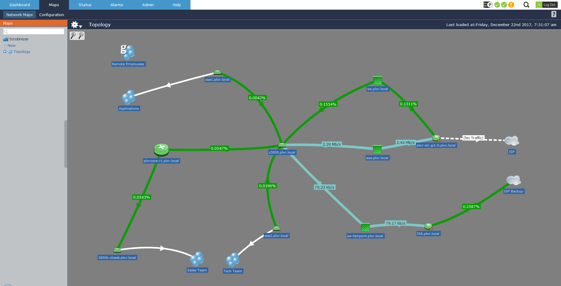 Creating A Network Map