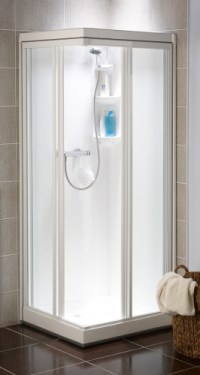 Kubex Kingston All-In-One Sealed Shower Cubicle - Corner ...