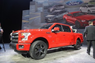 The new Ford F150