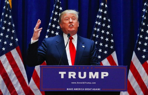 Donald Trump, U.S. president
