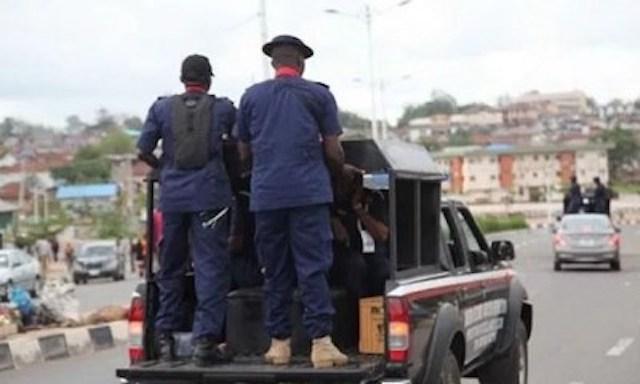 NSCDC men on patrol