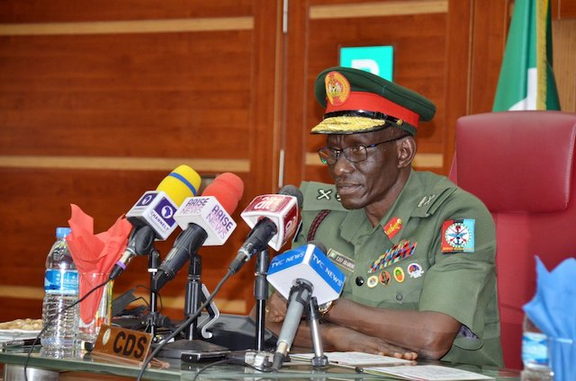 General Lucky Irabor, Nigeria's chief of defence staff: a new idea to end Boko Haram war