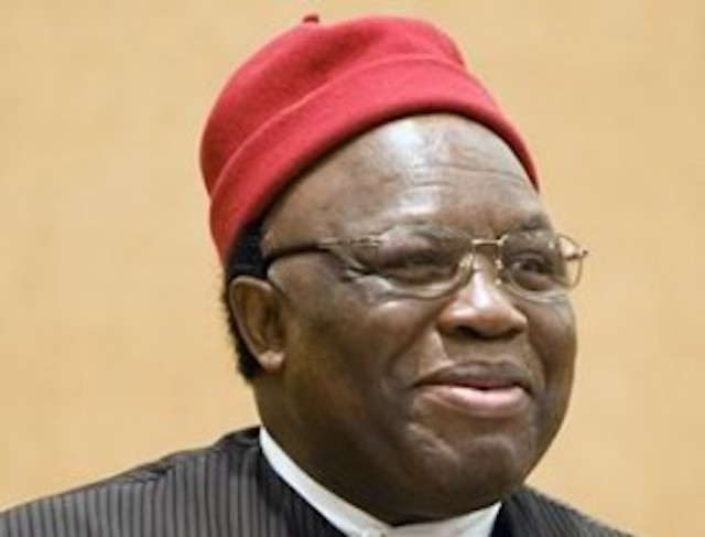 Ambassador George Obiozor, Ohanaeze leader says attack on Uzodinma's home is an abomination