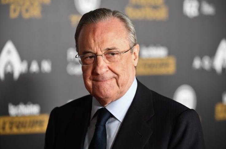 Florentino Perez, Real Madrid president chairs the new European Super League