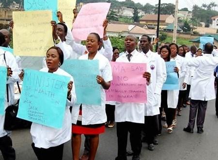 ESUTH Resident doctors present 10-point demand