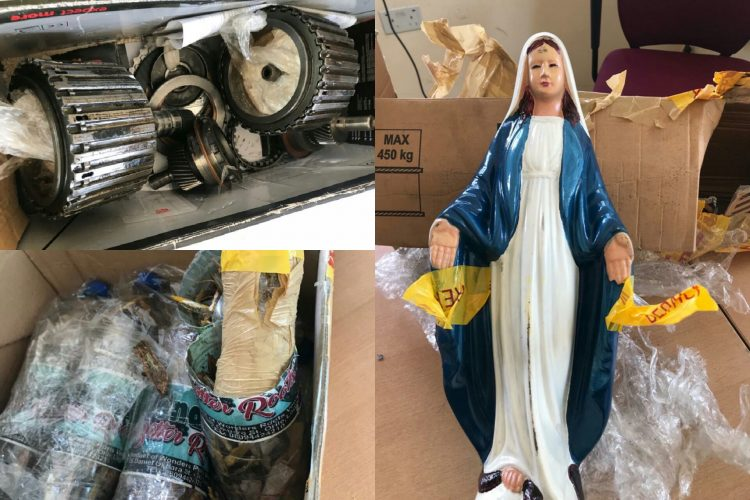 NDLEA intercepts drups hidden in statue of Mary