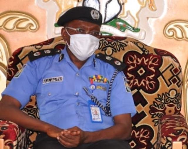 Adamawa CP Aliyu Alhaji: his command announced death of ASP Abdullahi