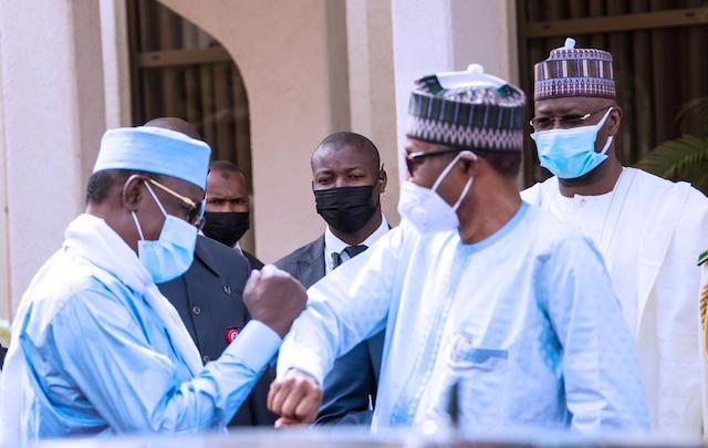 And this: Deby and Buhari again