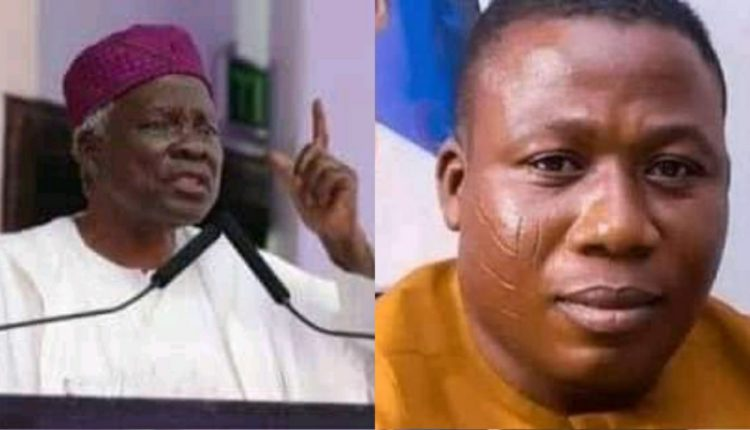 Prof. Banji Akintoye and Sunday-Adeyemo Igboho:  Agbajowo Advocacy for Yoruba People's Rights (AAYPR) rejects their clamours for secession of Yoruba nation from Nigeria