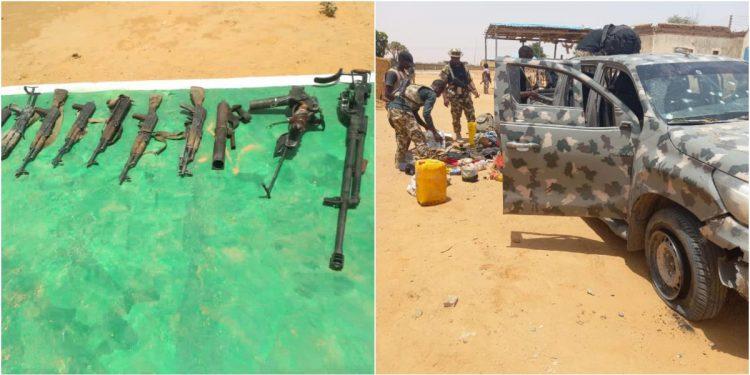 Troops kill 21 Boko Haram terrorists, recover guns