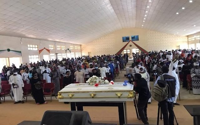 Funeral service for Dorathy Yohanna