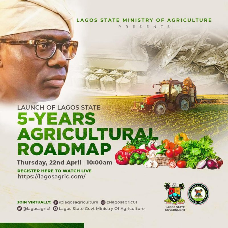Governor Sanwo-Olu: Lagos to launch 5-year agricultural development roadmap later this month